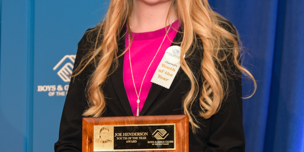 Queen Creek Teen Wins Boys & Girls Clubs of the East Valley Youth of the Year